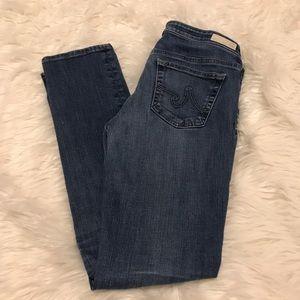 Adriano Goldschmeid stilt cigarette skinny jeans